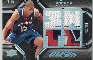 Authentic Al Horford Quad Game-Worn Jersey