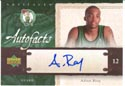 Authentic Allan Ray Autograph