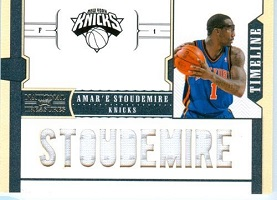 Amare Stoudemire 6 Patch Game Worn Jersey