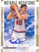 Authentic Bill Laimbeer Autograph Card