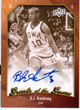 Authentic B.J. Armstrong Autograph Card