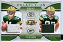 Authentic Brian Brohm & Jordy Nelson Dual Rookie Game-Worn Jersey