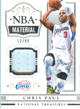 Chris Paul Game Worn Jersey Card