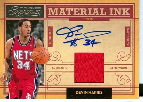 Authentic Devin Harris Autograph Game-Worn Jersey