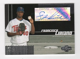 Authentic Francisco Liriano Rookie Autograph