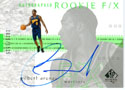Authentic Gilbert Arenas Autograph Card