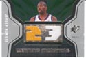 Authentic Jason Richardson Duel Game-Worn Jersey Card