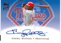 Authentic Jimmy Rollins Autograph