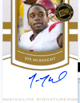 Authentic Joe McKnight Rookie Autograph
