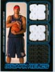 Authentic Josh Boone Dual Game Worn Jersey Card