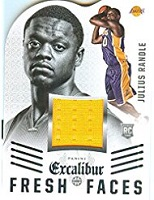 Authentic Julius Randle Rookie Game Worn Jersey