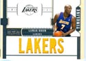 Authentic Lamar Odom 6 Patch Game-Worn Jersey