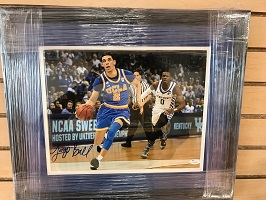 Authentic Lonzo Ball Rookie Autograph