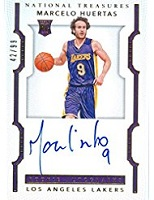 Authentic Marcelo Huertas Autograph Game-Worn Jersey