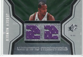 Authentic Michael Redd Duel Game-Worn Jersey
