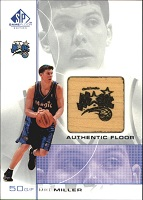 Authentic Mike Miller Floor Card