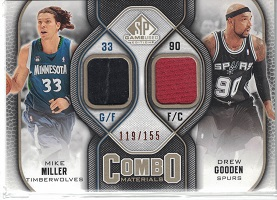 Authentic Mike Miller & Drew Gooden Dual Game-Worn Jersey