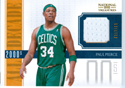 Paul Pierce Autograph Jersey Card