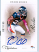 Authentic Rahim Moore Rookie Autograph