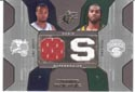 Authentic Rashard Lewis & Chris Wilcox Dual Game-Worn Jersey