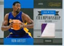 Authentic Ron Artest Game-Worn Patch Card