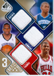Authentic Ronnie Brewer, Cedric Simmons & Tyrus Thomas Triple Game-Worn Jersey Card