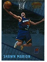 Authentic Shawn Marion Rookie Card