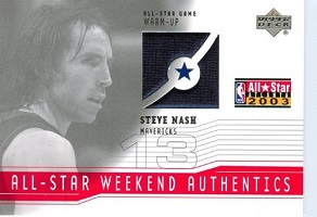 Authentic Steve Nash Game-Worn Jersey