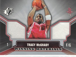 Authentic Tracy McGrady Dual Game-Worn Jersey