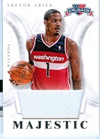 Authentic Trevor Ariza Game Worn Jersey Card
